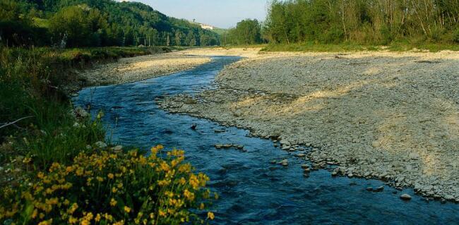 Colmo per un fiume - Letto di un fiume ...